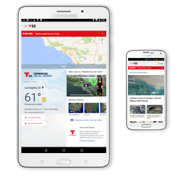 Get the Telemundo 52 Android App