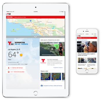 Get the Telemundo 52 iPhone App