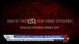 "Video: Universal busca ""zombies"" para The Walking Dead"